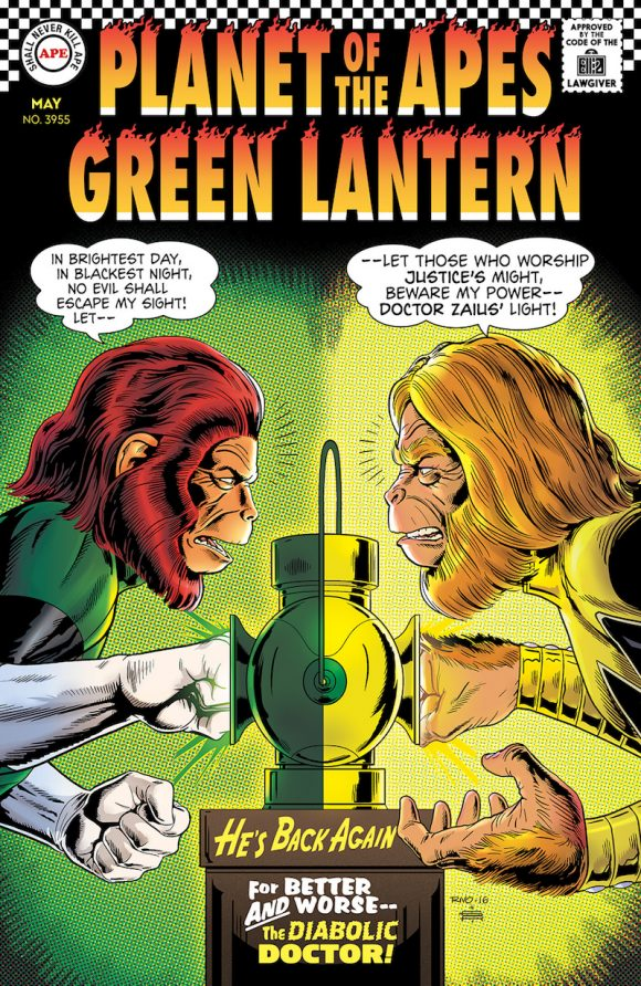 DC FRD PLANET OF THE APES GREEN LANTERNS TPB TRADE PAPER BACK NEW BOOM