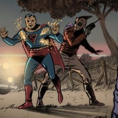 The Curious Case of When SUPERMAN Met the ROCKETEER