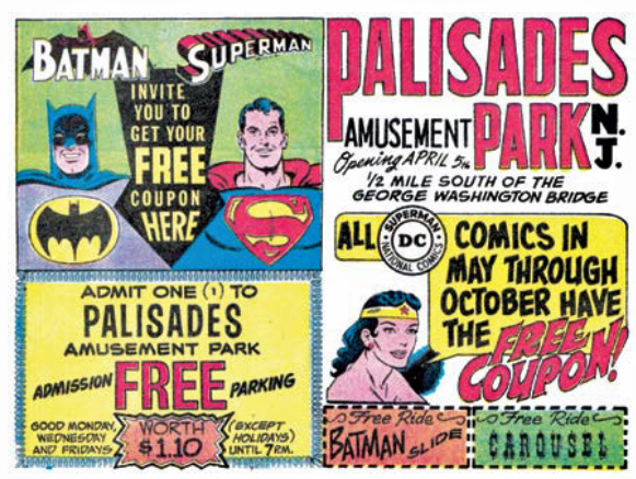 Image result for Palisades Amusement Park comic book ads