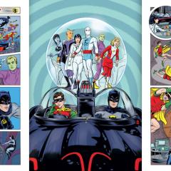 EXCLUSIVE INSIDE LOOK: BATMAN '66 MEETS THE LEGION OF SUPER-HEROES