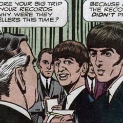 An INSIDE LOOK at THE BEATLES' Comic Book Debut