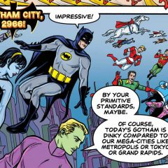 BATMAN '66/LEGION: The Most Joyous Comic Book You'll Read This Year