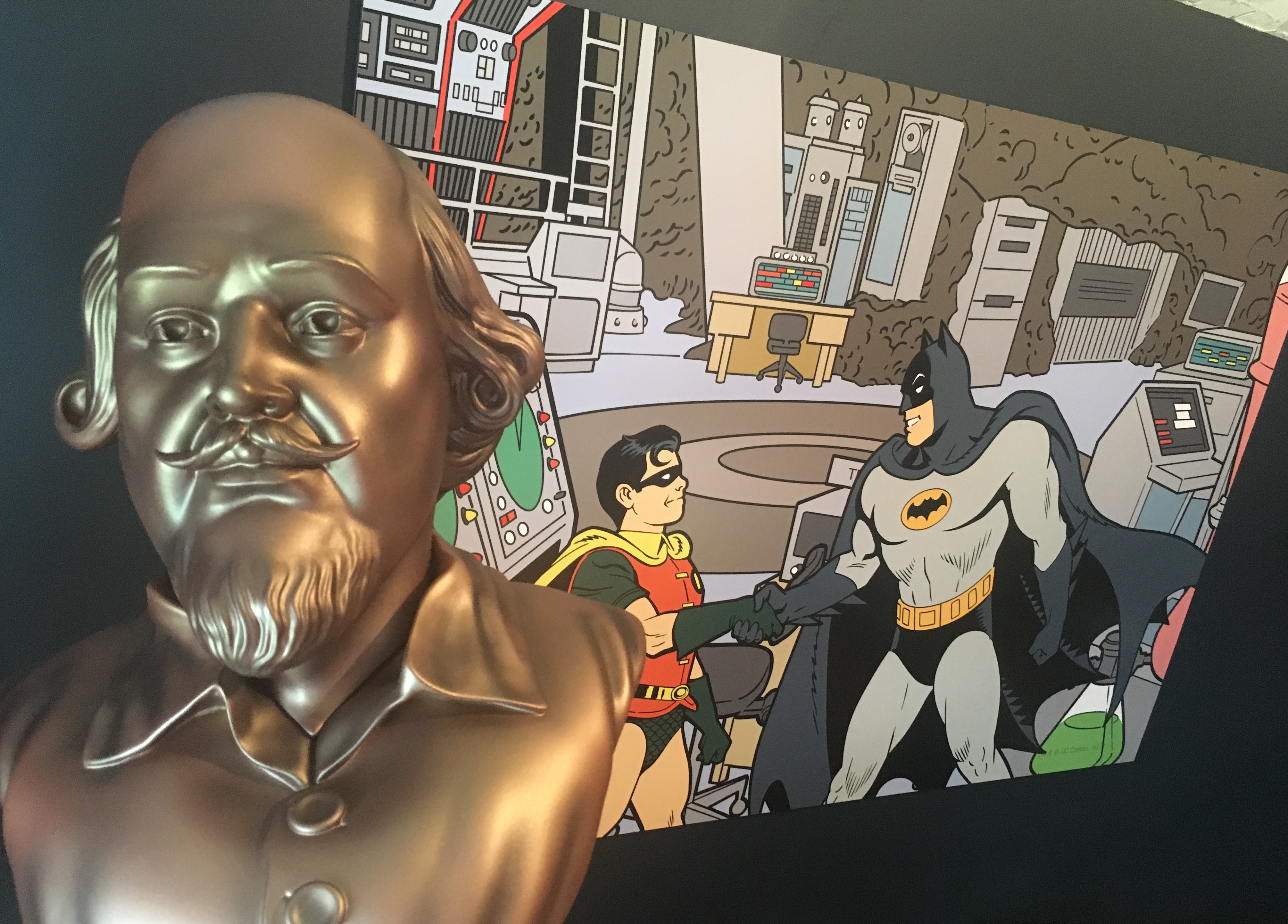 REVIEW: Diamond's Extraordinary BATMAN '66 Shakespeare Bust | 13th