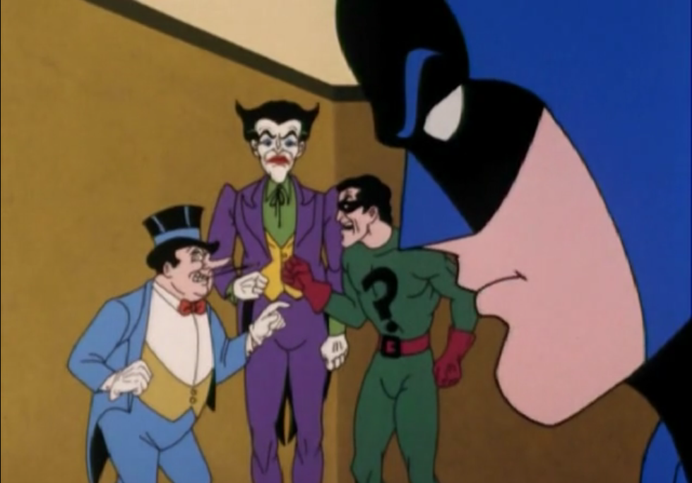 Batman Cartoon Porn Pics