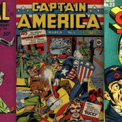 13 COVERS: Superheroes Fight Fascists on the Fourth of July