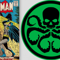 Sorry, Marvel: Batman Co-Creator BILL FINGER Invented HYDRA Too