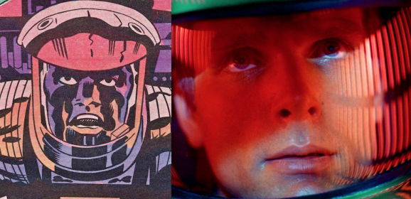 The Powerful, Clashing Visions of KUBRICK's and KIRBY's '2001'