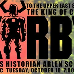 JACK KIRBY Lecture Coming in October