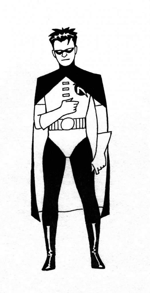 kevin nowlan lifts the cowl on his batman animated designs