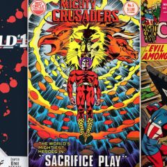 13 COVERS: The Best of THE MIGHTY CRUSADERS