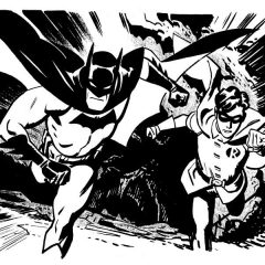 13 Magnificent BATMAN Sketches by CHRIS SAMNEE