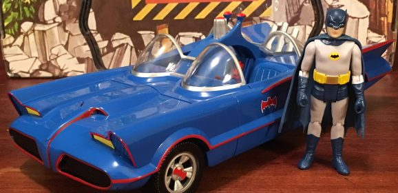 REVIEW: Funko's Blue Batmobile is a Colorful Blast From the Past