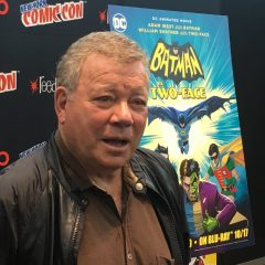 SHATNER Talks ADAM WEST and Playing TWO-FACE