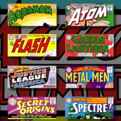 13 Great Ira Schnapp DC COMICS Logos — RANKED