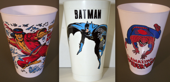 13 Far Out DC and Marvel SLURPEE Cups