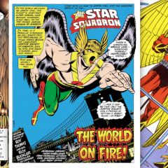 13 Colorful — and Often Weird — HAWKMAN Designs