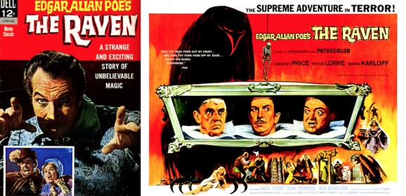 THE RAVEN: A Bizarre Halloween with Vincent Price and Dell Comics