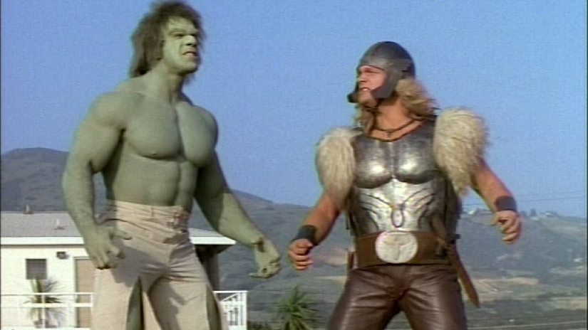 Image result for The Incredible Hulk and Thor