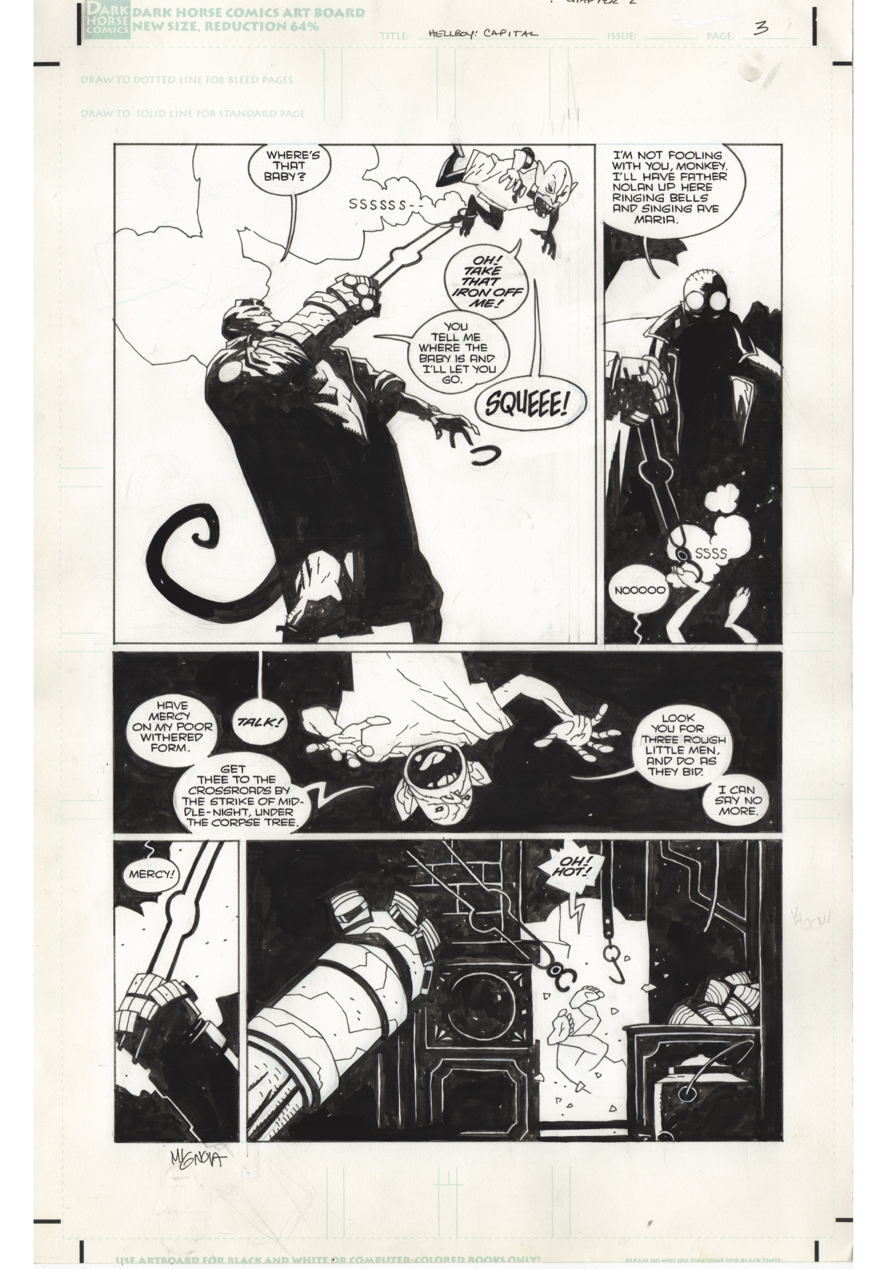 13 Haunting Pages Inside The Hellboy In Hell Artist S