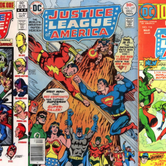 13 COVERS: The JUSTICE LEAGUE in the BRONZE AGE