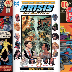 13 COVERS! CRISIS ON EARTH-X — and MORE!