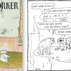 13 CARTOONS: A Salute to GEORGE BOOTH