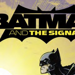 DC's NEW LOOK: Dig the Slick BATMAN AND THE SIGNAL Logo