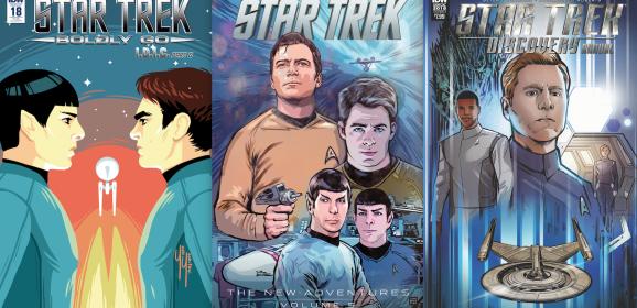 EXCLUSIVE FIRST LOOK: IDW's March 2018 STAR TREK Comics
