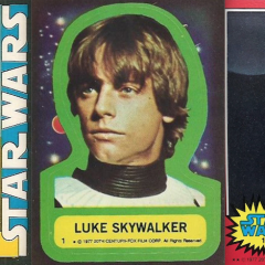 13 Far Out 1977 STAR WARS Trading Cards