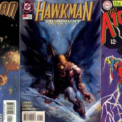 JEFF LEMIRE Picks His 13 Favorite HAWKMAN Covers