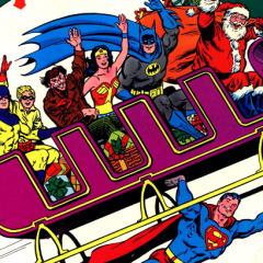 HOLIDAY TREASURE: Christmas (Again) With the Super-Heroes!