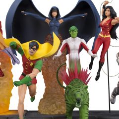 NEW TEEN TITANS Get Statue Treatment From DC Collectibles