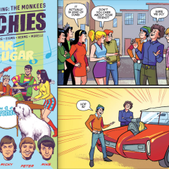 EXCLUSIVE Preview: THE ARCHIES MEET THE MONKEES