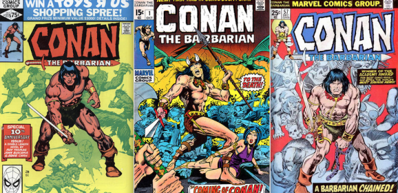 13 COVERS: Marvel's CONAN THE BARBARIAN