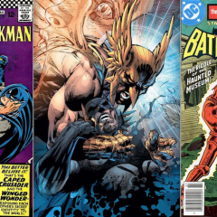WINGING IT: 13 Great BATMAN and HAWKMAN Moments