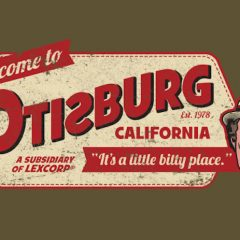 OTISBURG: A Visit to the Funniest Place in SUPERMAN