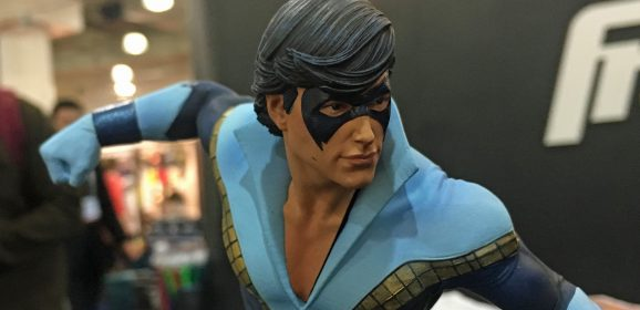 This Dazzling Statue Brings NIGHTWING to Life
