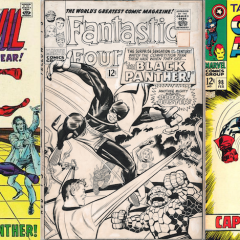 13 COVERS: BLACK PANTHER in the Silver Age