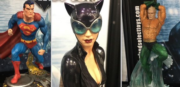 TOY FAIR 2018: An UP-CLOSE LOOK at Diamond's New DC Statues