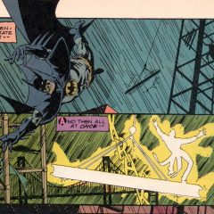 A Dive Into a Classic MARSHALL ROGERS BATMAN Page