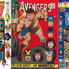 13 COVERS: All Hail … FLOATING HEADS!
