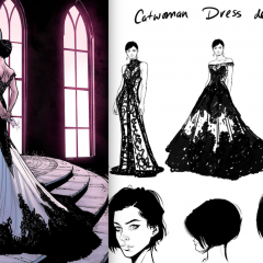 Dig CATWOMAN's Wedding Dress — and JOELLE JONES' Designs