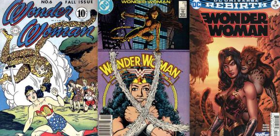 13 COVERS: WONDER WOMAN vs. THE CHEETAH