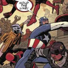 SNEAK PEEK: Chris Samnee's Final CAPTAIN AMERICA Issue