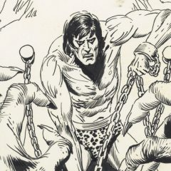 13 BRILLIANT PAGES: Inside Kubert's TARZAN AND THE LION MAN Artist's Edition