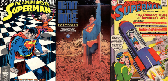 13 Top Artists Pick Their Favorite SUPERMAN Covers
