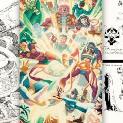 KIRBY & MIGNOLA's NEW GODS Projects That Never Were