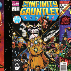 13 COVERS: The Power of THANOS and the INFINITY GAUNTLET