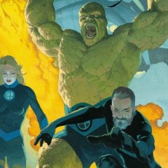 MARVEL Reveals Cover For FANTASTIC FOUR #1