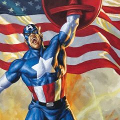 Dig This Magnificent CAPTAIN AMERICA #1 Variant by JOE JUSKO